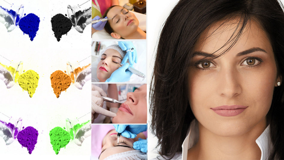 Les pigments organiques et inorganiques