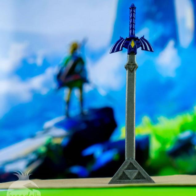 Espada Master Sword - Nerd ao Cubo
