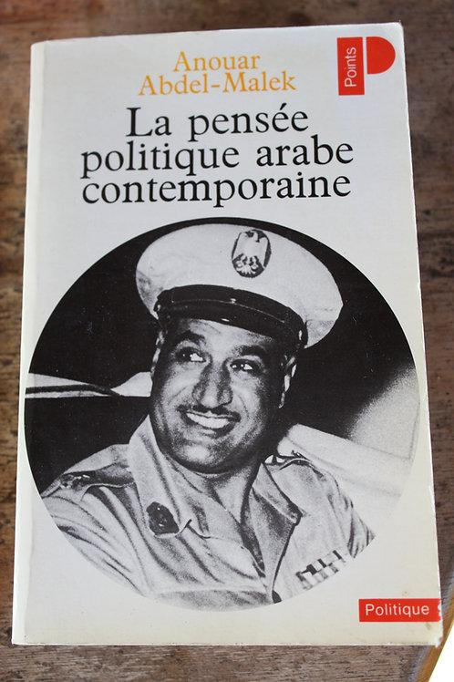 La pensée politique arabe contemporaine