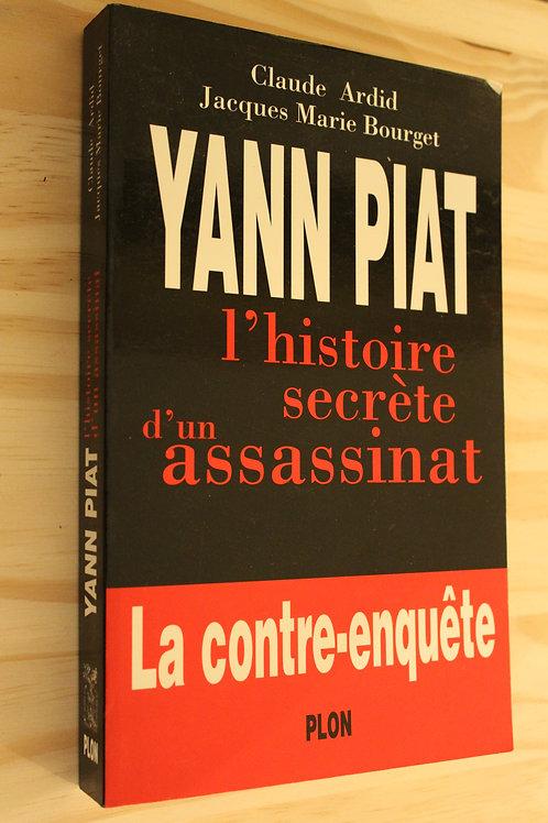 Yann Piat l'histoire secrète d'un assassinat
