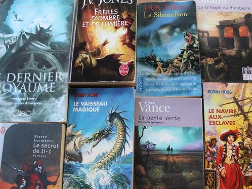 Box Héroïc-fantasy 3 ouvrages
