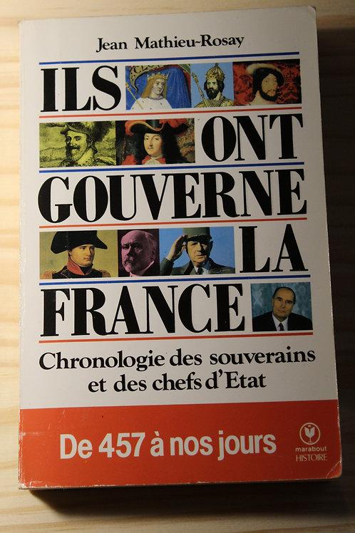 Ils ont gouverné la France