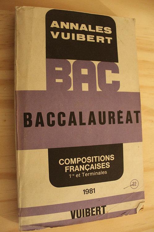 Baccalauréat Compositions françaises