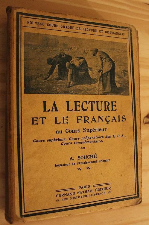La lecture et le français au Cours Supérieur