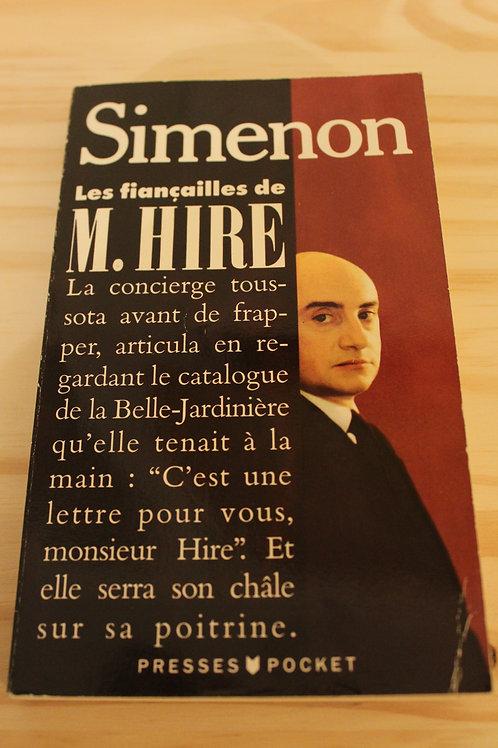Les fiançailles de M. Hire