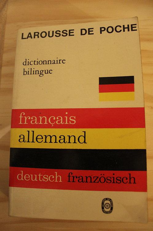 Larousse de Poche français allemand deutsch französisch