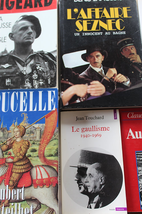 Box Histoire/Société 9 ouvrages