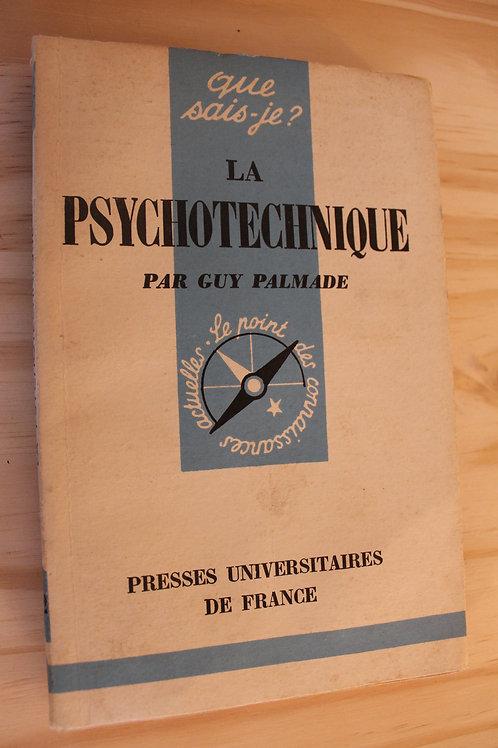 Que sais-je ? / La psychotechnique