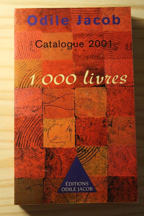 1000 livres / Catalogue 2001