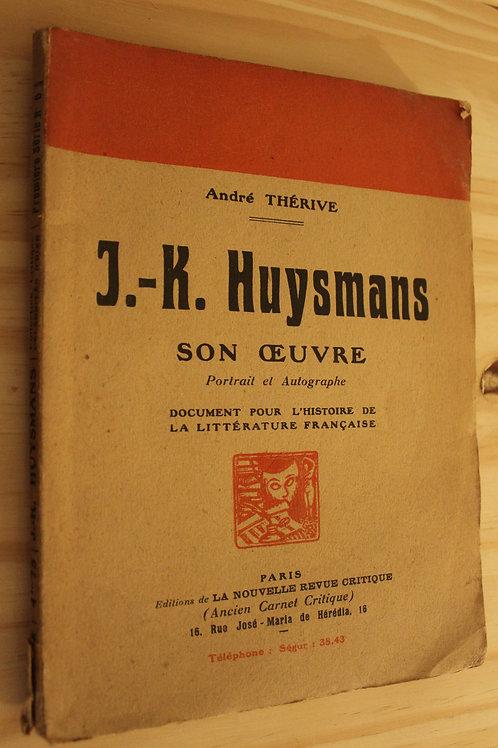 J.-K. Huysmans son oeuvre