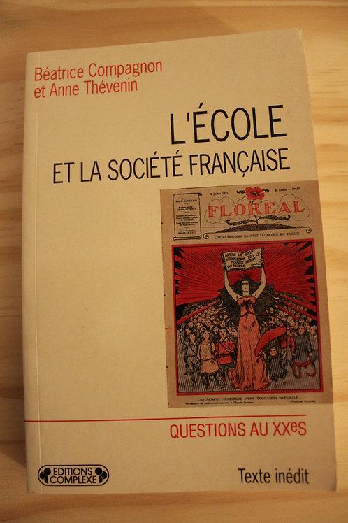 L'école et la société française