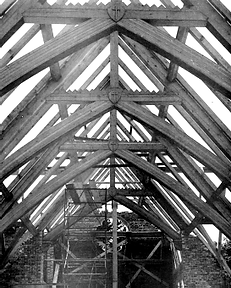 Before the Roof was Installed 1951.png