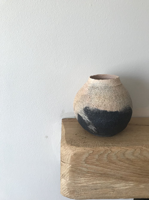 Smoked fired buld vessel