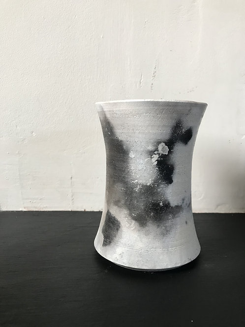 Smoked fired vessel