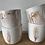 Thumbnail: Ivory ash sake cups