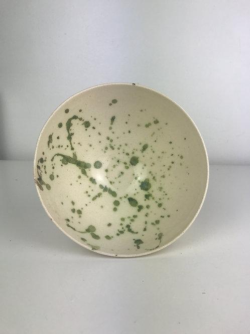 Ash splatter bowl