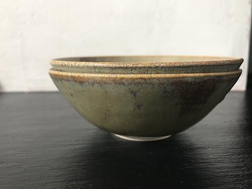 Small green bowls