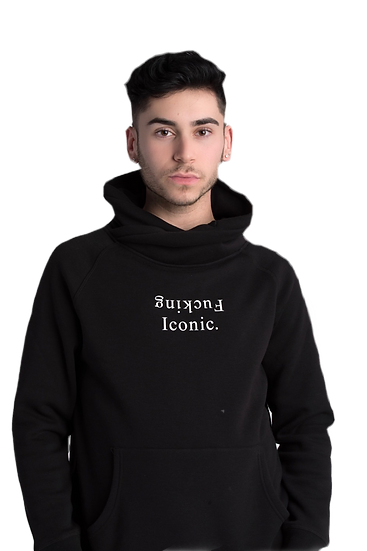 F****** Iconic. Funnel Neck