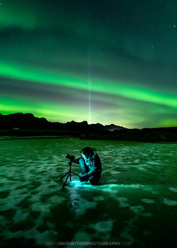 Northern Lights and Peace light