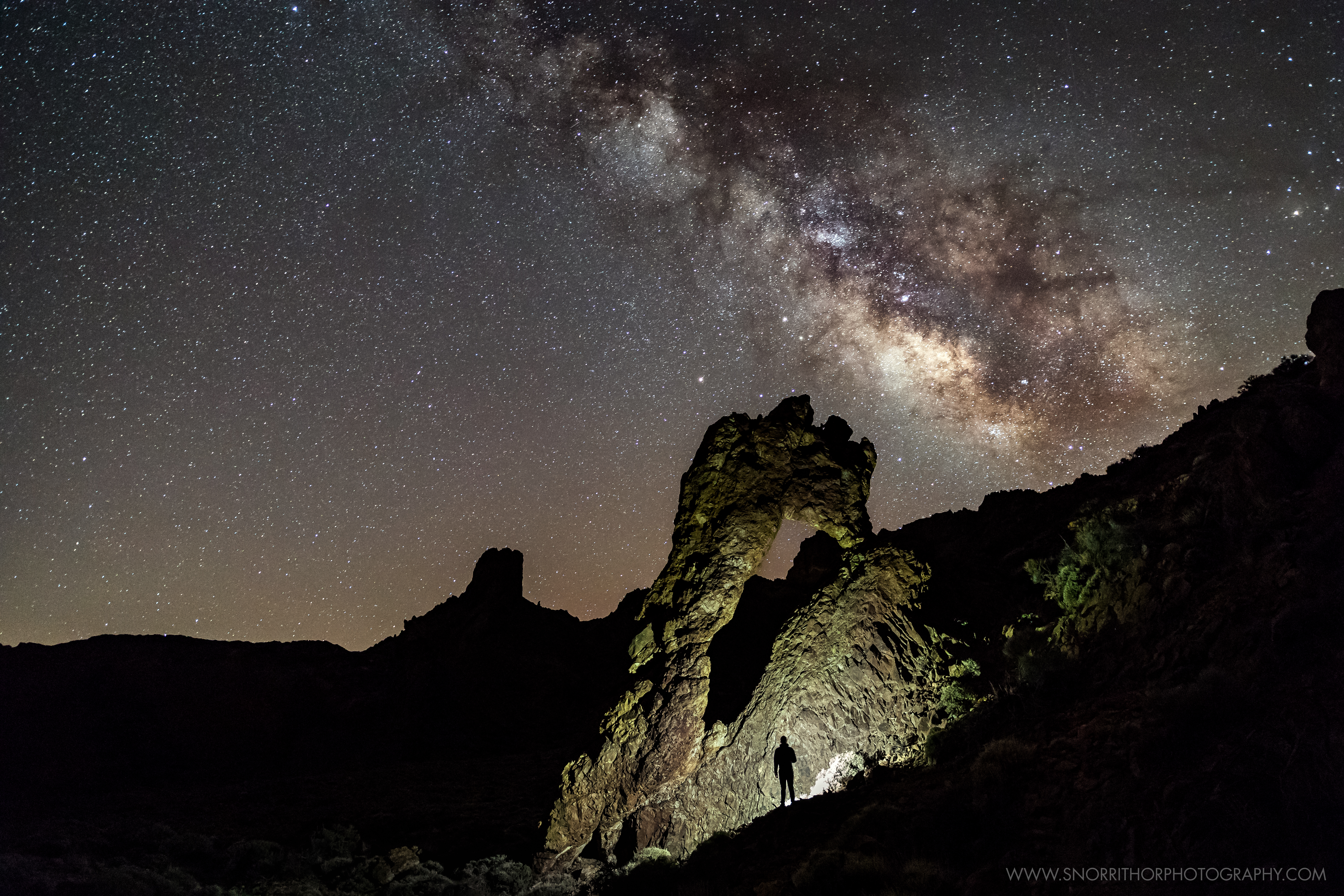 Milky Way at El Teide