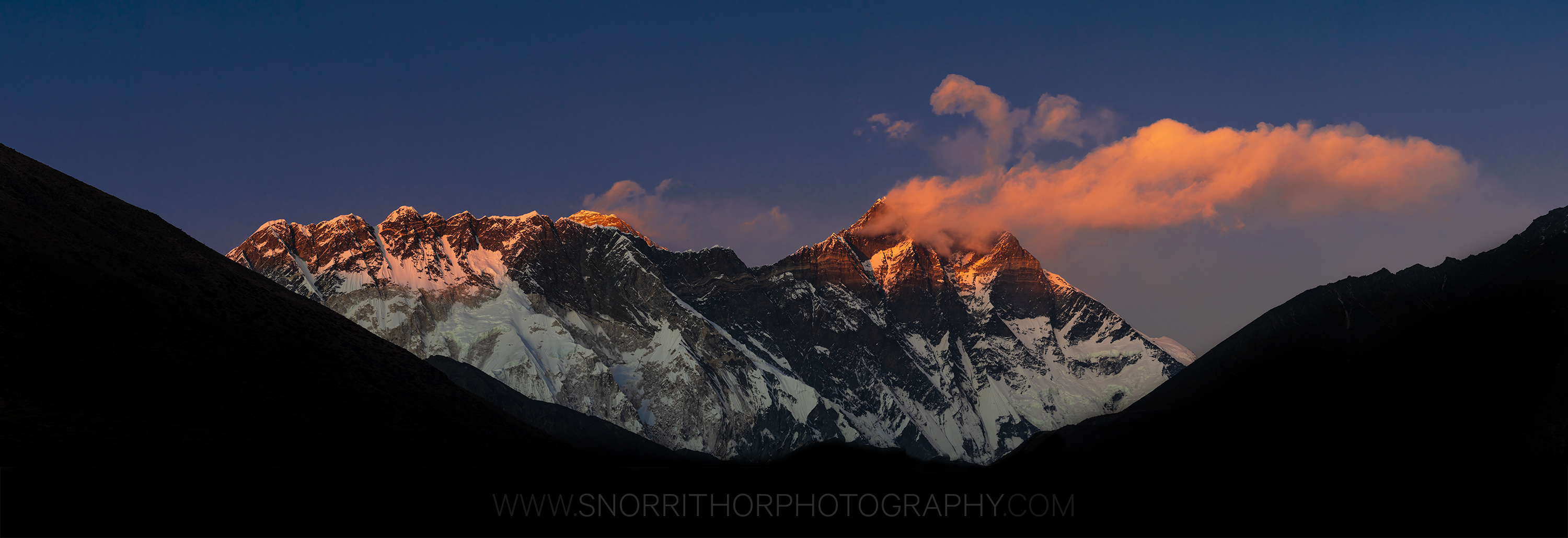 mt.Everest & Lhotse