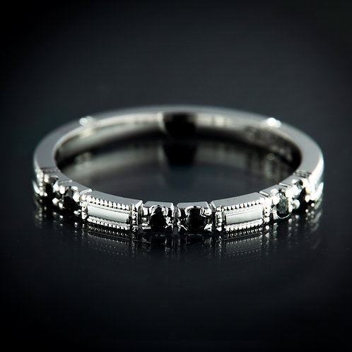 Black diamond 14kw alliance ring