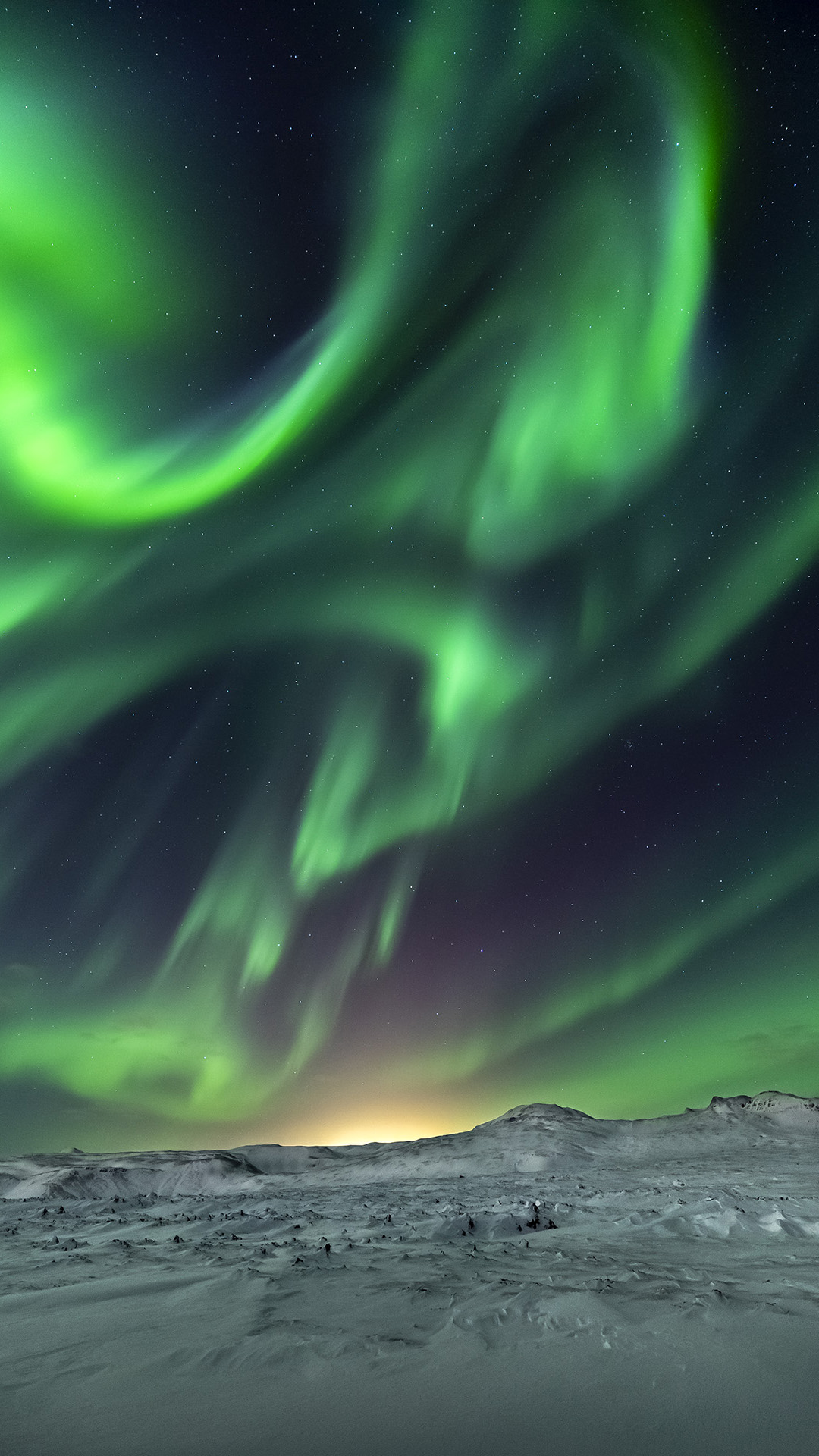 Northern Lights at Bláfjöll