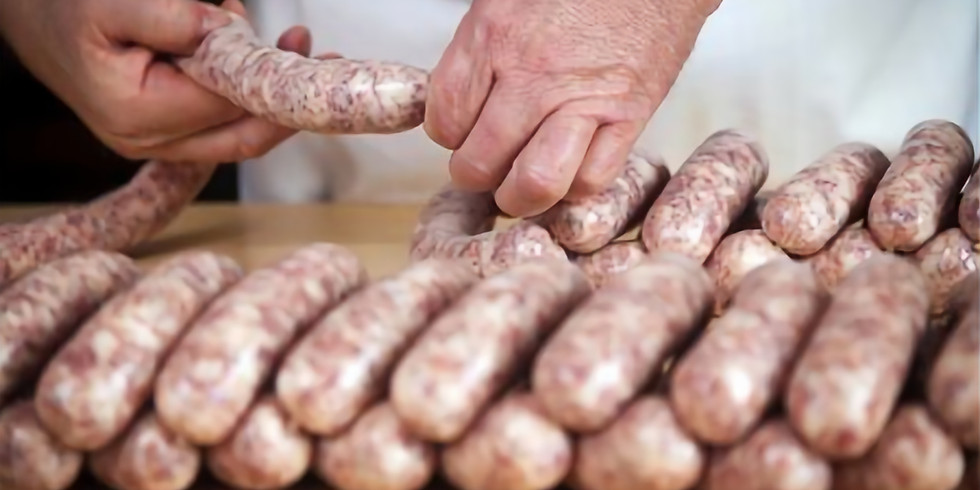 AGM + Sausage makng demo with Adrian H!