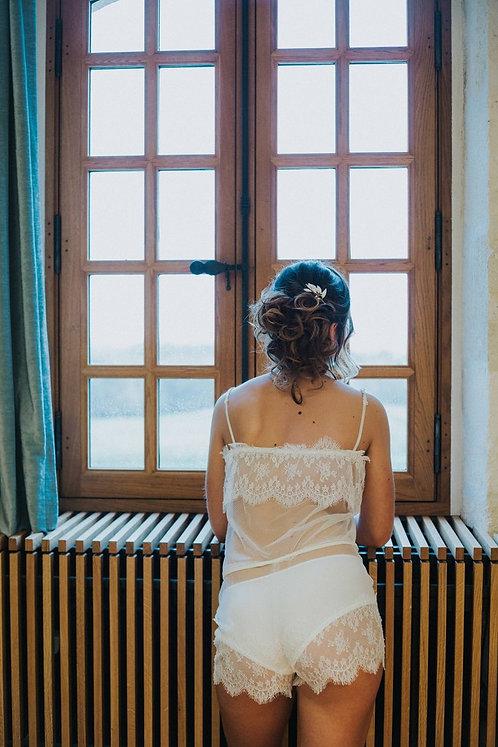 Combishort Valentin - lingerie mariage