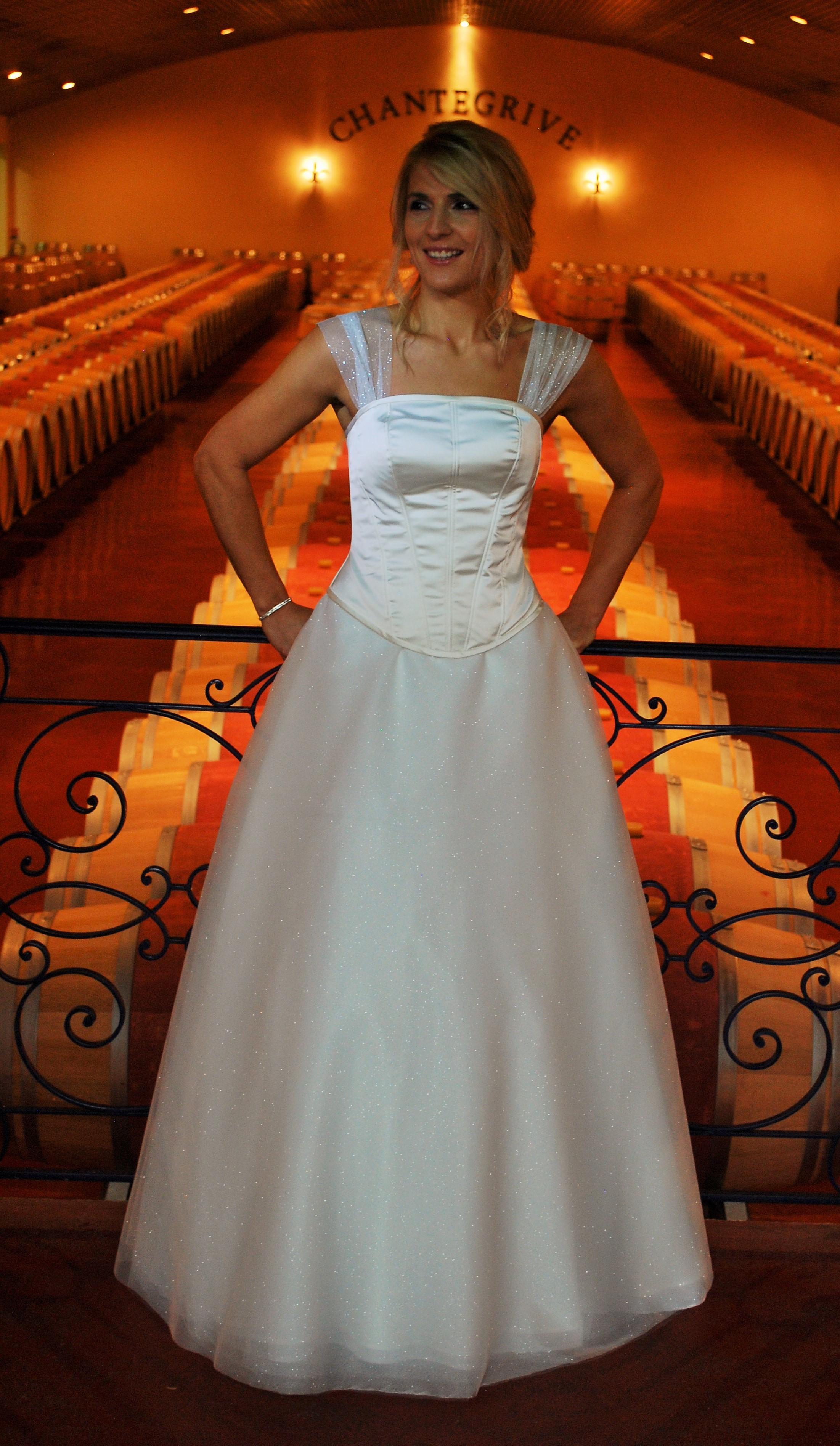 Magnifique robe sur mesure