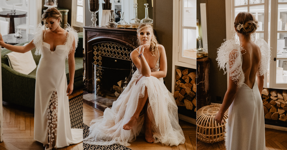 Christelle Vasseur couture robes de mari
