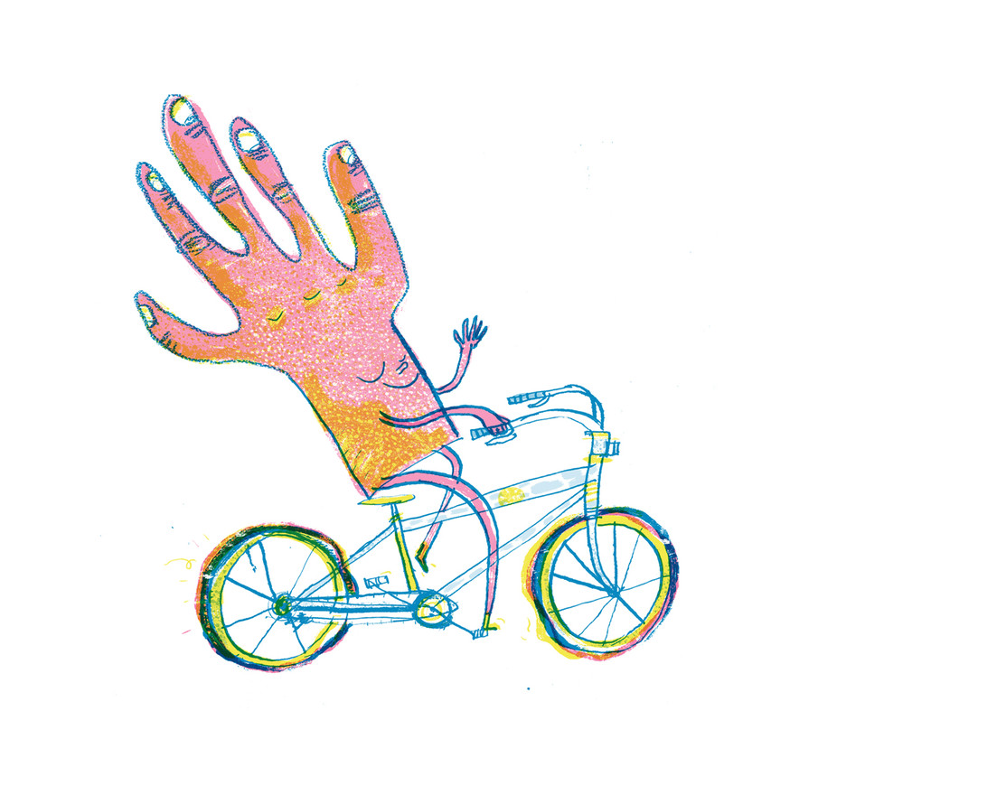 The Hand Illustration by Joseph Namara Holl