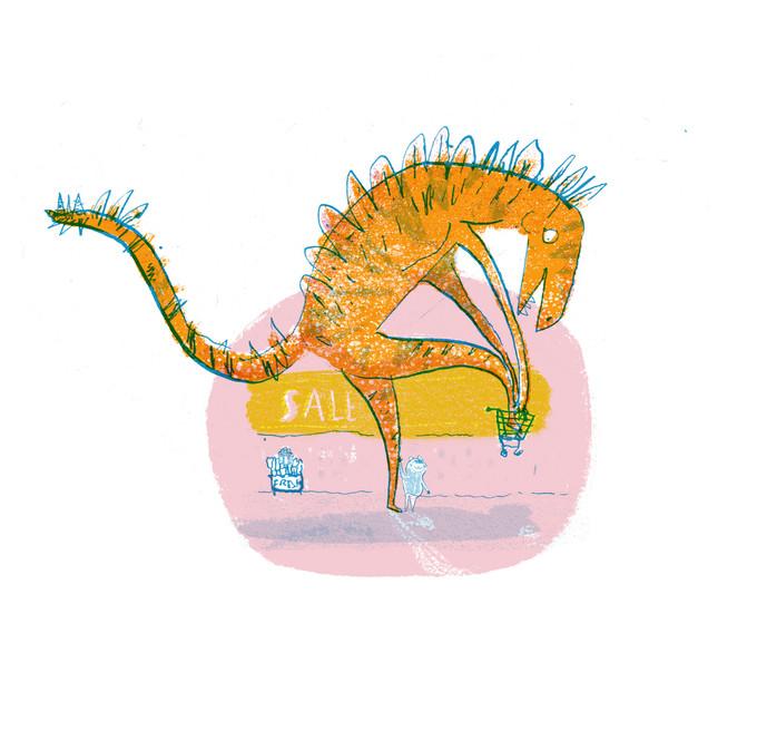 Dinosaur superstore