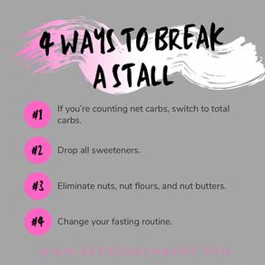 4 Ways to Break a Stall