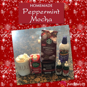 Peppermint Mocha at Home