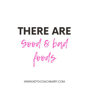 There Are Good and Bad Foods