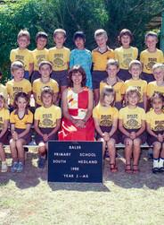 Baler Primary School Year 2 A5 1988