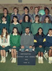Northhampton DHS 1990 Year 10
