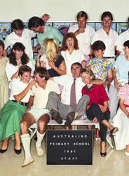 Australind Primary School Staff 1987