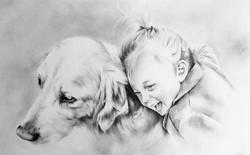 dog&child