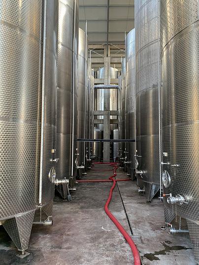 Bulk Wine Tanks GD Tikevs Winery