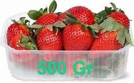 Fraise 500 gr