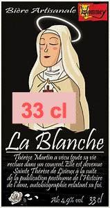 """Bière """" La Blanche"""" 33cl"""