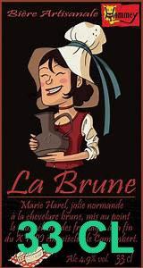 """Bière """" La Brune""""  33cl"""