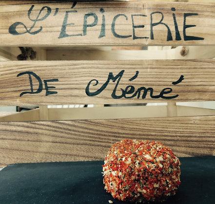 Crottin de chèvre tomate, poivron,...   BIO