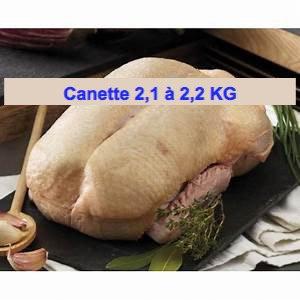 Canette PAC 2,1 à 2,2 Kg