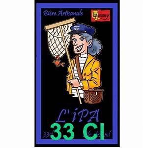 """Bière """" L'IPA""""  33cl"""