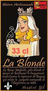 """Bière """" La Blonde"""" 33cl"""