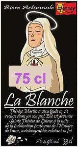 """Bière """" La Blanche"""" 75cl"""