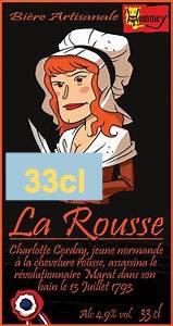 """Bière """" La Rousse""""  33cl"""